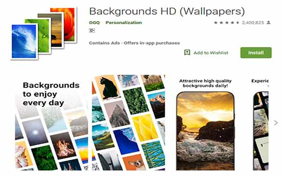 7 Best Background Wallpaper Apps For Android in 2019