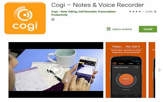 cogi voice recorder