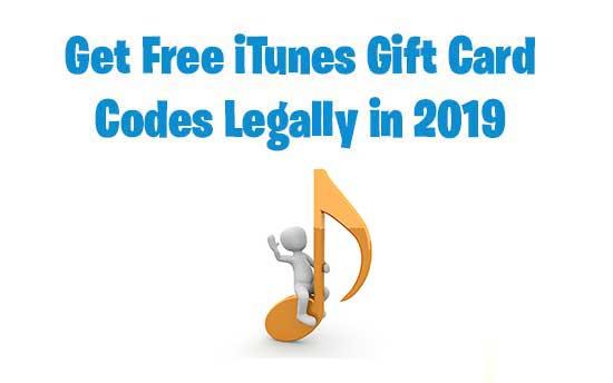 Free iTunes Gift Card : Top 3 Best Legit Methods To Earn Free iTunes