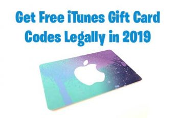 Free iTunes Gift Card : Top 3 Best Legit Methods To Earn Free iTunes Codes In 2019
