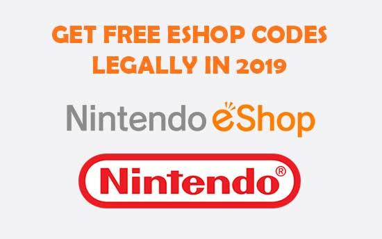 nintendo eshop codes