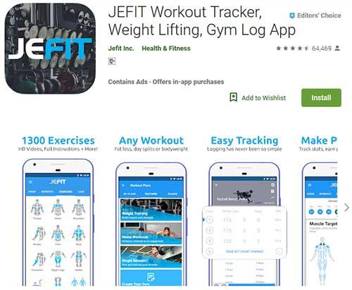 jefit workout