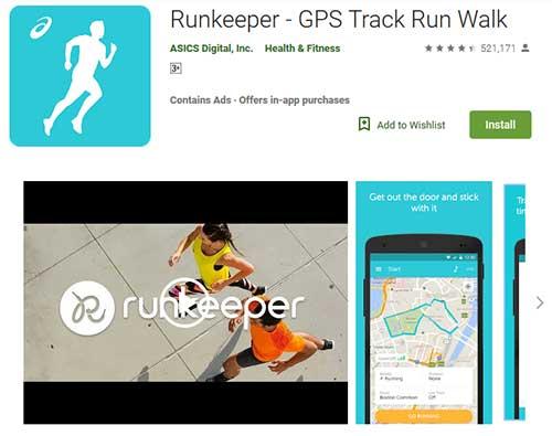 runkeeper GPS