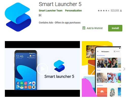 smart launcher 5
