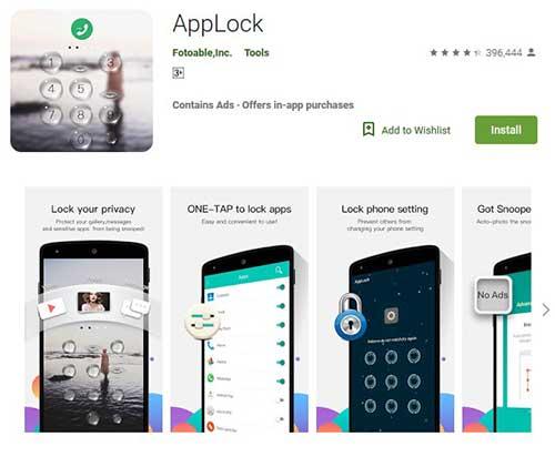 applock fotoable
