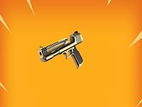 gold deagle hand gun