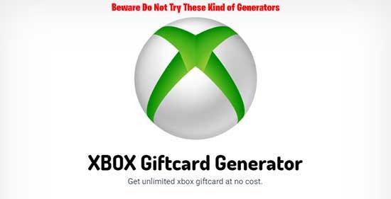 free xbox live code generator