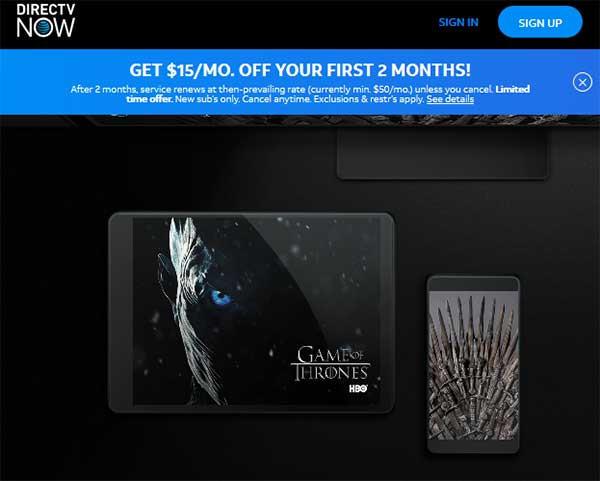 game of thrones free episodes