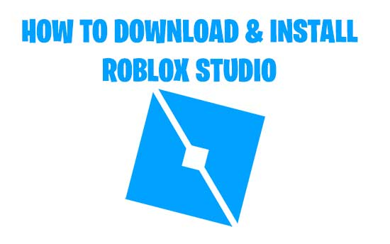 how to download and install roblox studio