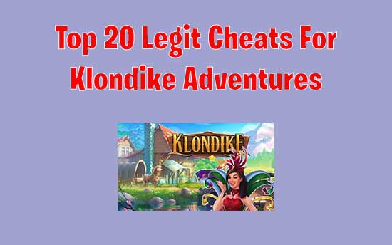 Klondike Adventures Cheats
