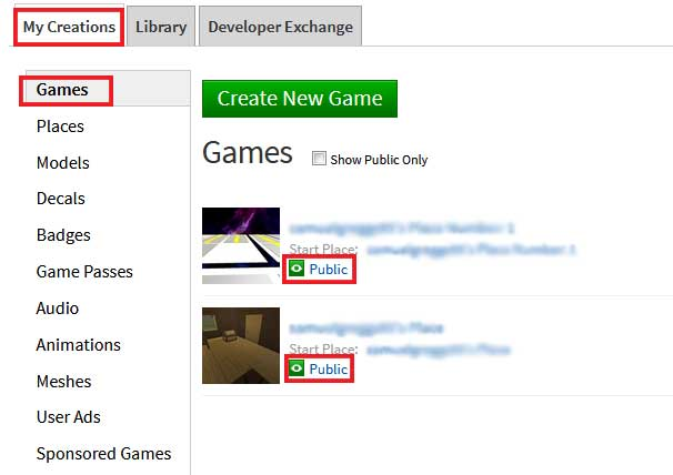 roblox game privacy status shortcut