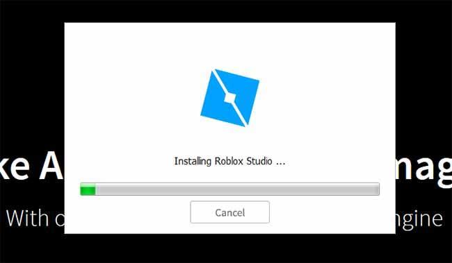roblox studio install