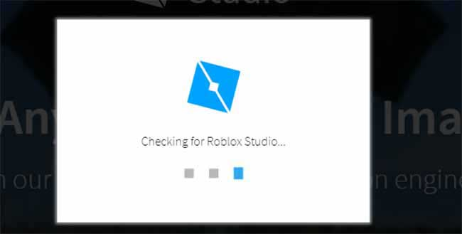 roblox cheks if there is already roblox studio installed here or not