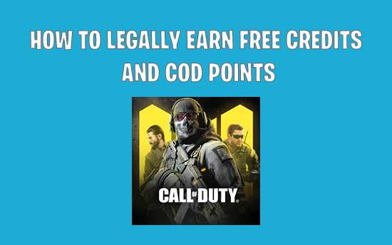 Call of Duty Mobile Hack : Top 5 Legit Cheats to Earn Free COD Point & Credits
