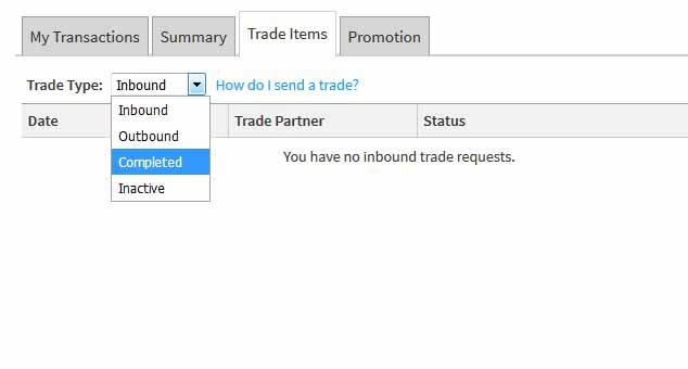 managing trade offers