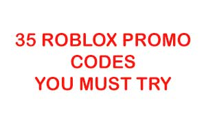 35 Roblox Promo Codes in Records Till 2019
