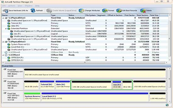 disk partition manager