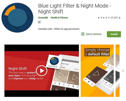 best night mode apps