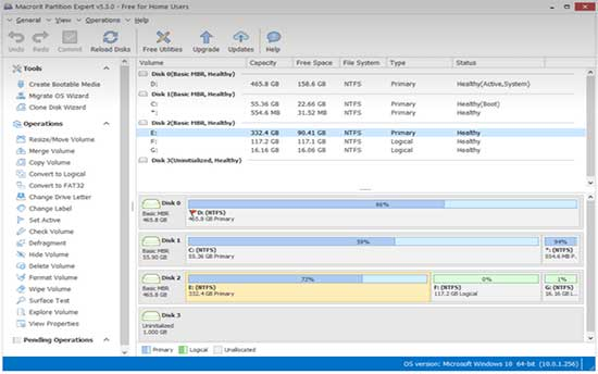 windows partition software